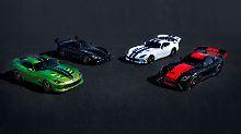 Mit fünf Sondermodellen will Dodge den Fans der Viper das Ableben des Boliden bis Ende 2017 versüßen.