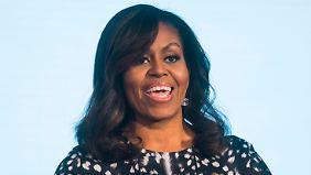 Präsidenten-Gattin Michelle Obama.