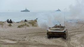 Kann die Nato im Kriegsfall das Baltikum verteidigen?