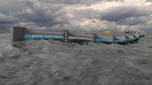 Säuberung der Weltmeere: Schwimmende Müllbarriere fischt Plastik weg