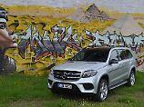 Der Mercedes GLS 500 4Matic ist mit 5,13 Meter Länge einer der größte seiner Klasse.
