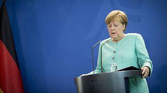 """Merkels Stellungnahme zum Brexit-Votum: """"Idee der europäischen Einigung war eine Friedensidee"""""""