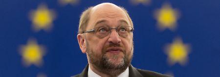 Nicht gut auf David Cameron zu sprechen: EU-Parlamentspräsident Martin Schulz