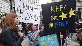 Zweites Schottland-Referendum gefordert: Junge Briten bangen um ihre Zukunft