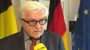 """Steinmeier im n-tv Interview: """"Der europäische Traum ist verblasst"""""""