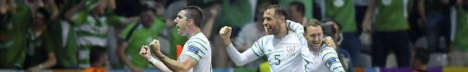 Der EM-Tag: 17:57 Irlands Coach sortiert schwache Schützen aus