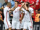 Schweiz verliert Elfmeterkrimi: Xhakas Fehlschuss lässt Polen jubeln