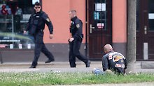 Ein Toter und drei Verletzte: Rocker beschießen sich in Leipziger Kneipe