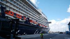 """Das neue Kreuzfahrtschiff von Tui Cruises: """"Mein Schiff 5"""" - Die ersten Einblicke"""