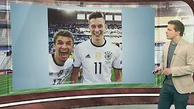 n-tv Netzreporter: Draxler begeistert, Löw provoziert mit Schnüffel-Aktion