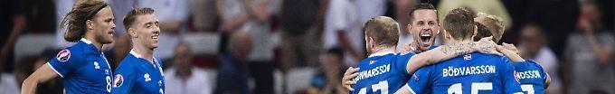 Der EM-Tag: 09:26 Island-Spiel erzielt Top-Einschaltquoten