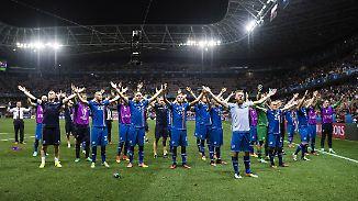 Nordländer außer Rand und Band: Island gelingt gegen England die Sensation