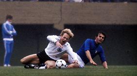 Spiel ohne Gewinner: Kalle Rummenigge beim 0:0 gegen Italien im Juni 1978.
