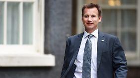 Neuauflage der Brexitabstimmung?: Britischer Gesundheitsminister will neues Referendum