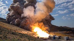 System für bemannte Marsmission?: Nasa testet erfolgreich neuen Raketenantrieb