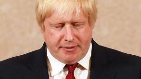 Wer wird Camerons Nachfolger?: Boris Johnson bewirbt sich nicht als Premier
