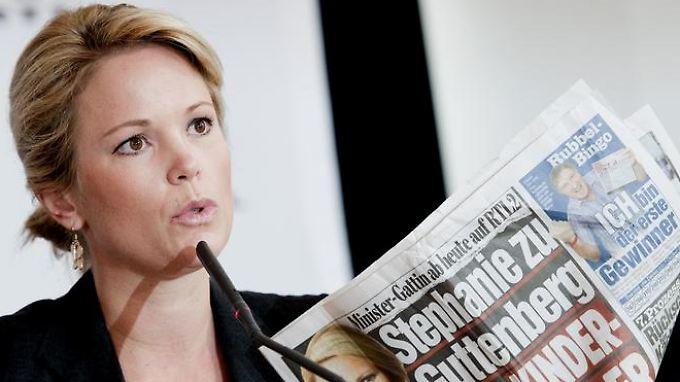 Stephanie zu Guttenberg sorgte kurzzeitig mit einer Fernsehsendung für Wirbel.