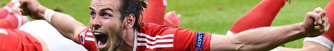 Der EM-Tag: 09:14 Bale will nichts von Privatduell mit Ronaldo wissen