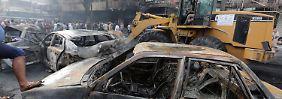Bombenanschlag in Bagdad: IS ermordet mindestens 119 Menschen