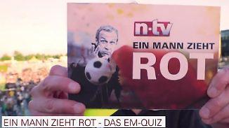"""Das n-tv EM-Quiz - Folge 7: """"Ein Mann zieht rot"""" mit Torsten Knippertz"""
