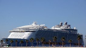 """n-tv Ratgeber-Reportage: Die """"Harmony of the Seas"""" - das größte Schiff der Welt"""