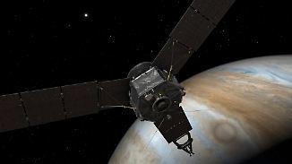 """Jubel bei der Nasa: Sonde """"Juno"""" umkreist Jupiter"""