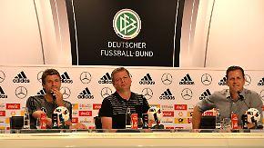 """Wichtiges aus der DFB-Pressekonferenz: Bierhoff: """"Sehe Frankreich leicht favorisiert"""""""