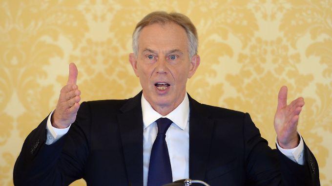 Tony Blair sieht sich durch den Irak-Bericht entlastet.