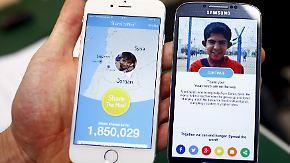 """Ein Klick auf """"Share the meal""""-App der UN: So machen Sie mit 40 Cent ein hungerndes Kind einen Tag lang satt"""