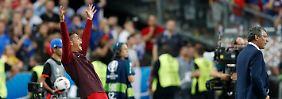 Tränen des Schmerzes, Tränen der Freude: Ronaldo erlebt EM-Finaldrama mit Happy End