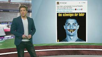 n-tv Netzreporter: Ronaldo-Drama und ein skurriles Video beschäftigen das Netz