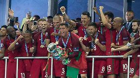 Portugal wird gefeiert - trotz einer schwachen EM.