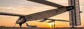 Ohne Treibstoff um die ganze Welt: Die Rekord-Reise des Sonnenfliegers