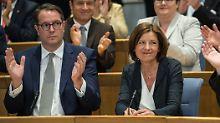 Niederlage für Klöckner und CDU: Malu Dreyer übersteht Misstrauensvotum