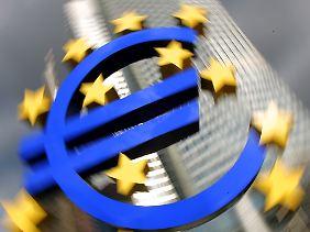 Entscheidungszentrale im Euroraum: Die EZB sitzt in Frankfurt am Main.