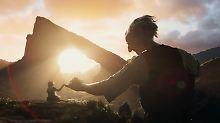 "Spielbergs ""Big Friendly Giant"": Siegeszug der Mickerlinge"