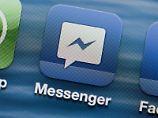 Hat die Marke von einer Milliarde Nutzer geknackt: Facebooks Kurzmitteilungsdienst Messenger. Foto: Jens Büttner/Archiv