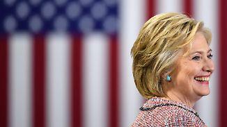 Kämpferin mit scharfem Verstand: Hillary Clinton: Eine Frau, die Geschichte schreiben könnte