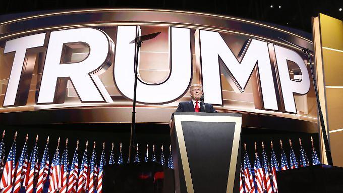 """Trumps Nominierungsrede: """"Clintons Erbe ist Tod, Zerstörung, Terrorismus und Schwäche"""""""