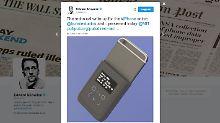 Akku-Hülle warnt Nutzer: Snowden macht iPhones spionagesicher