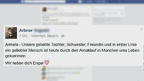 """""""Wir lieben dich Engel"""": München trauert um Amok-Opfer"""