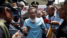 Fujimori muss seit mehreren Monaten immer wieder im Krankenhaus behandelt werden.