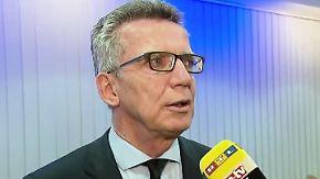 De Maizière erwägt tiefgreifende Reformen: Das könnte sich nach dem Amoklauf ändern