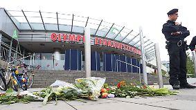 Tatort in München weiter abgesperrt: 18-jähriger Schütze war von Amokläufen fasziniert