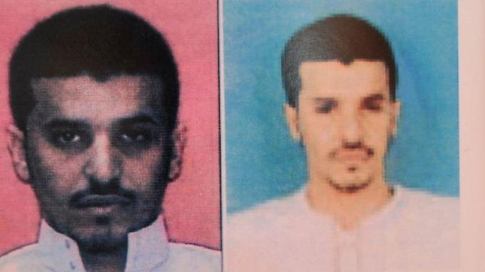 Das jemenitische Innenministerium veröffentlichte Fahndungsfotos von Ibrahim Hassan al-Asiri. Der Saudi, dessen Bruder als Selbstmordattentäter bei einem Anschlag starb, soll hinter den Terrorplänen stecken.