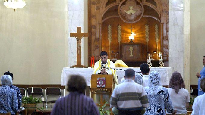 Gottesdienst in der Sajedat al-Nadschah-Kirche (Archivaufnahme).