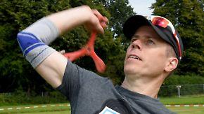 18 Teams aus 10 Ländern in Kiel: Beste Bumerangwerfer der Welt kämpfen um Weltmeister-Titel