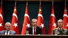 Nach gescheitertem Putschversuch: Erdogan will Kontrolle über Militär