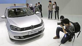 Der Volkswagen-Konzern verkauft auf dem chinesischen Markt mittlerweile mehr Autos als auf dem deutschen Heimatmarkt.