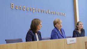 """Vorstellung eines Anti-Terrorplans: Merkel bleibt bei """"Wir schaffen das"""""""